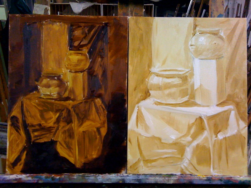 how to make raw sienna