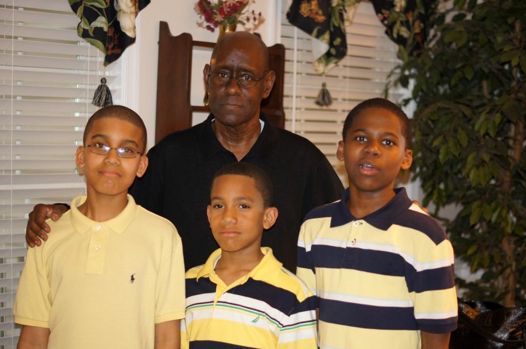 DB, Kyle, Jordan and Justice