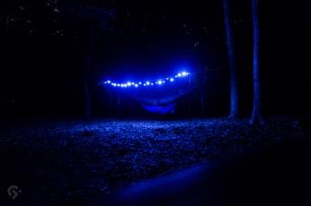 Hammock camping at Burke Lake