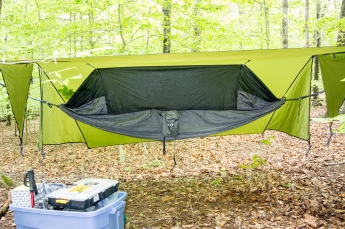 Camping at Prince William Forest Park, Triangle, VA