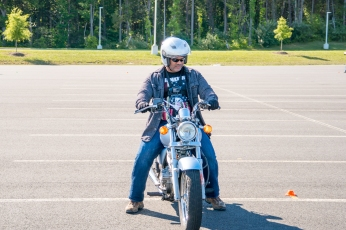 Motorcycle intro course